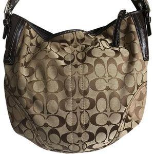 Coach Brown shoulder bag
